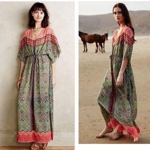 ‼️Anthropologie Chama Caftan Dress ‼️